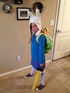 Adventure Time Costume Girl