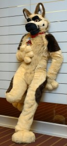 Furry Dog Costume