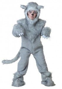 Furry Wolf Costume