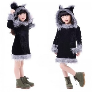 Girl Raccoon Costume