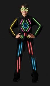 Glow Stick Figure Costume