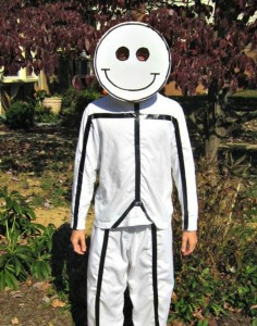 Men Stick Figure Costume