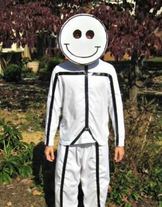 Men Stick Figure Costume