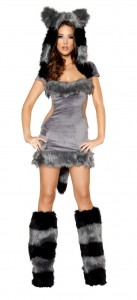 Raccoon Costume for Women