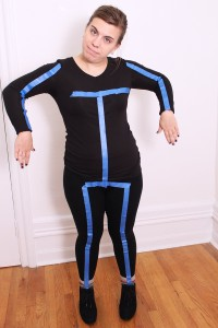 Stick Figure Costume Images