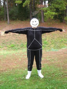 Stick Figure Halloween Costume