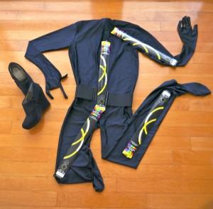 Woman Stick Figure Costume
