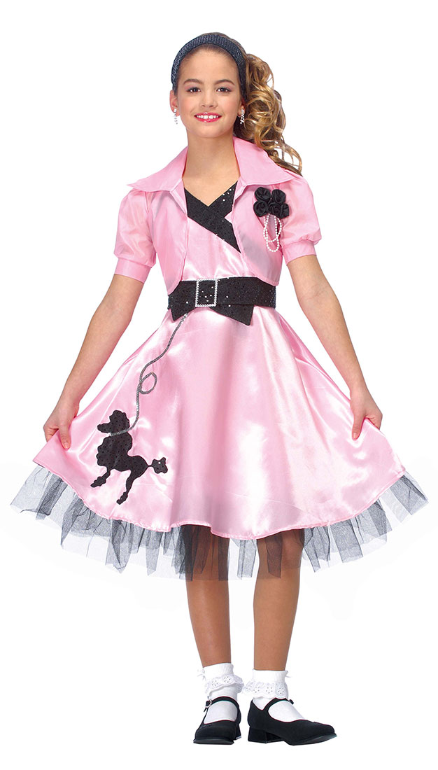 28a0aee976df 50s Sock Hop Costumes & Forum Novelties Womenu0027s Fabulous ...