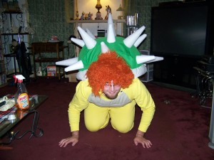 Adult Bowser Costume