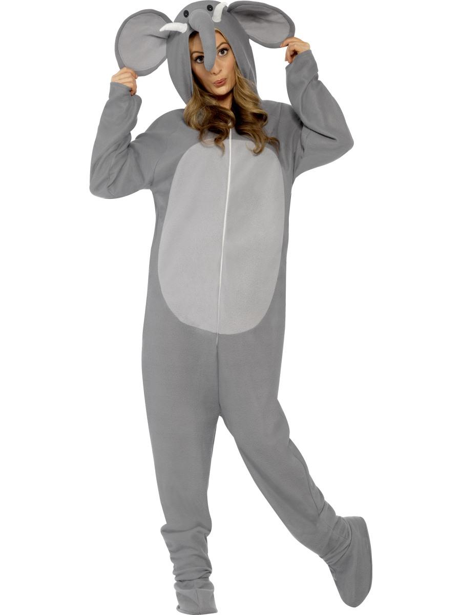 Elephant Costumes Men Women Kids Parties Costume