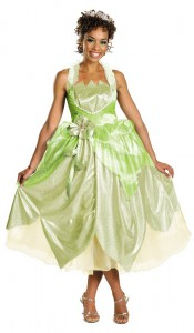 Adult Princess Tiana Costume