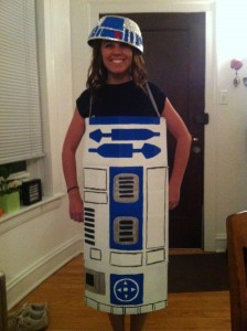 Adult R2D2 Costume