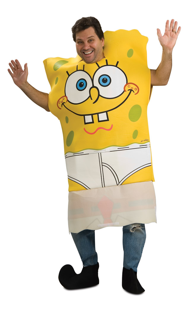 spongebob patrick adult costume