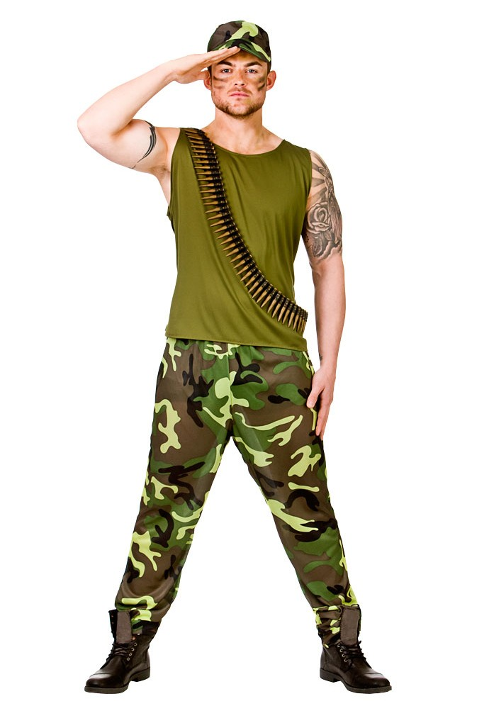 Army Costumes For Men Women Kids Partiescostume Com