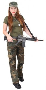 Army Costume for Womens