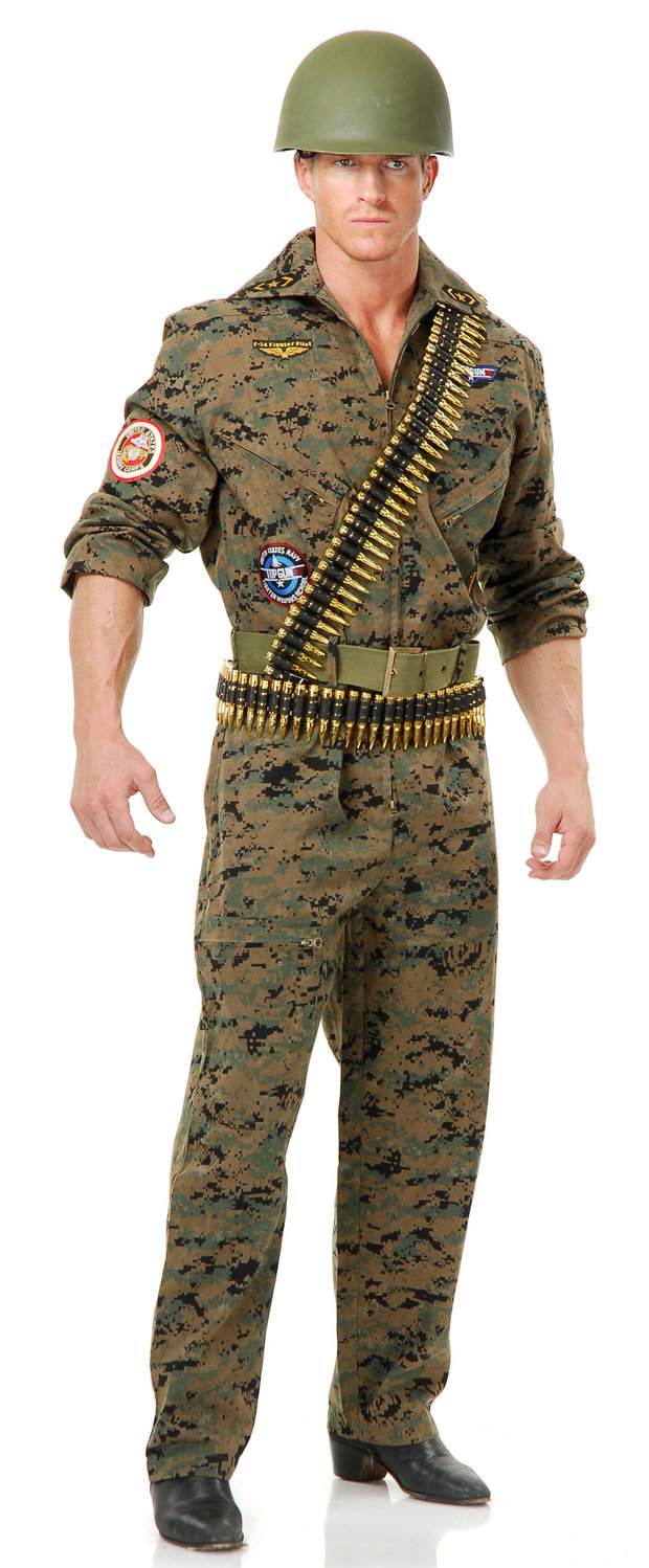 Army Costumes (for Men, Women, Kids)