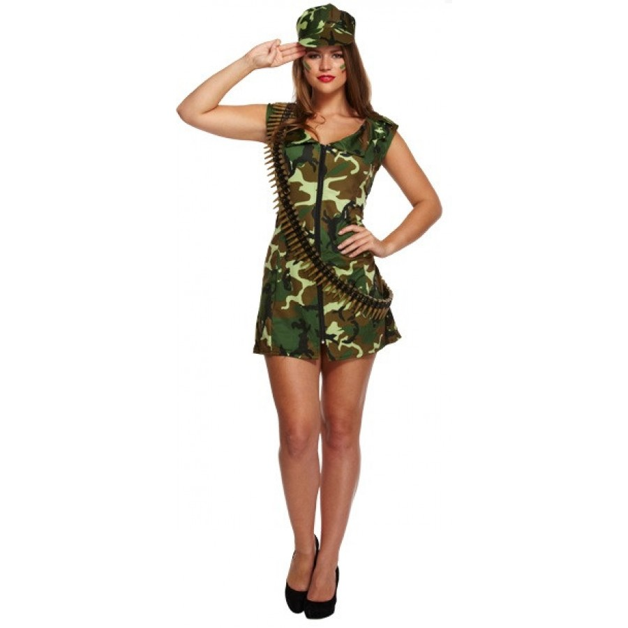 Womens Army Green Jacket