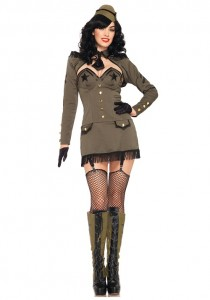 Army Woman Costume