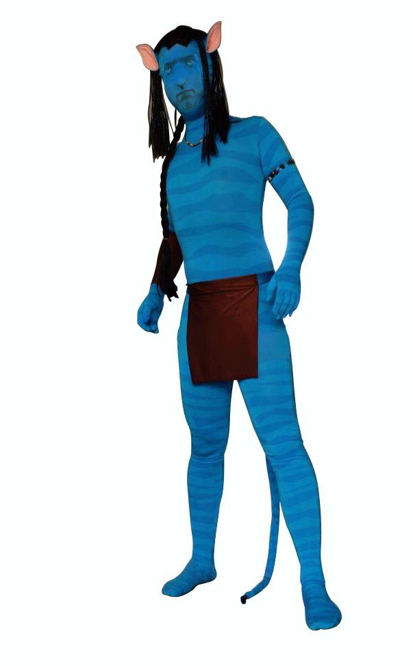 Avatar Costume Body Paint