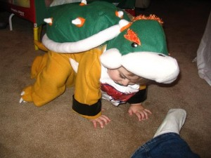 Baby Bowser Costume