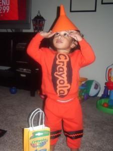 Baby Crayon Costume