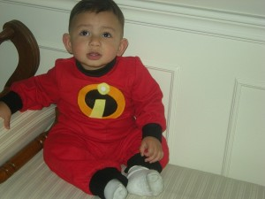 Baby Incredible Costume