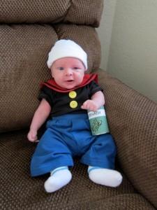 Baby Popeye Costume
