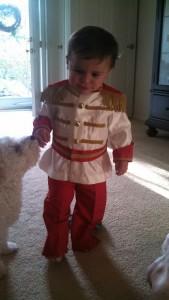 Baby Prince Charming Costume