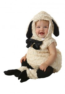 Baby Sheep Costume
