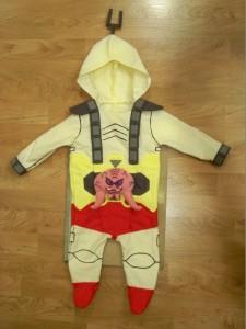 Baby Shredder Costume