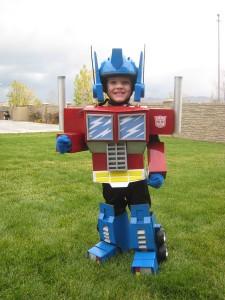 Baby Transformer Costume