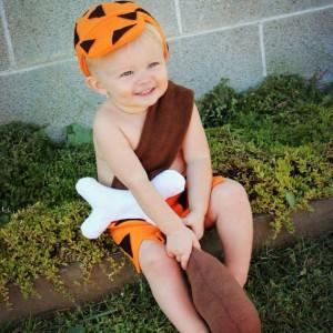 Bam Bam Costume Baby
