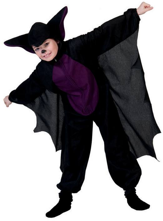 Bat Costumes Men Women Kids Parties Costume