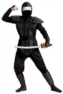 Black Ninjago Costume