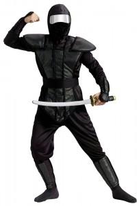 Black Ninjago Costume