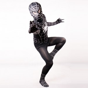 Black Spiderman Adult Costume
