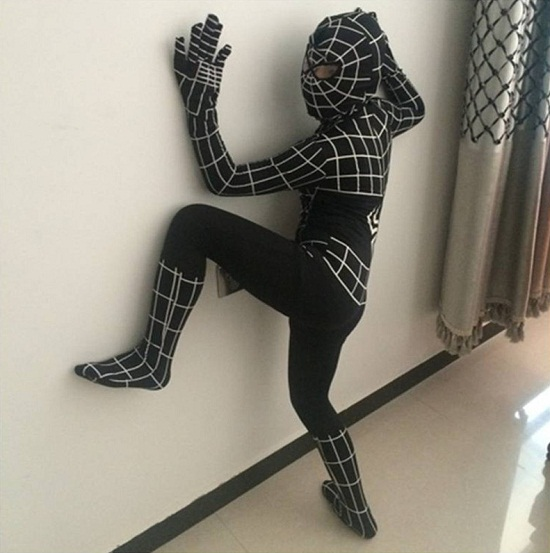 Buy low price, high quality adult black spiderman costume with worldwide shipping on comfoisinsi.tk