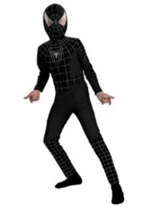 Black Spiderman Costume for Kids