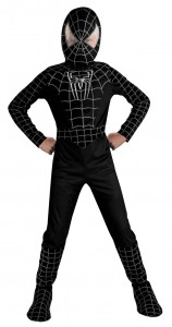 Black Spiderman Costumes for Kids