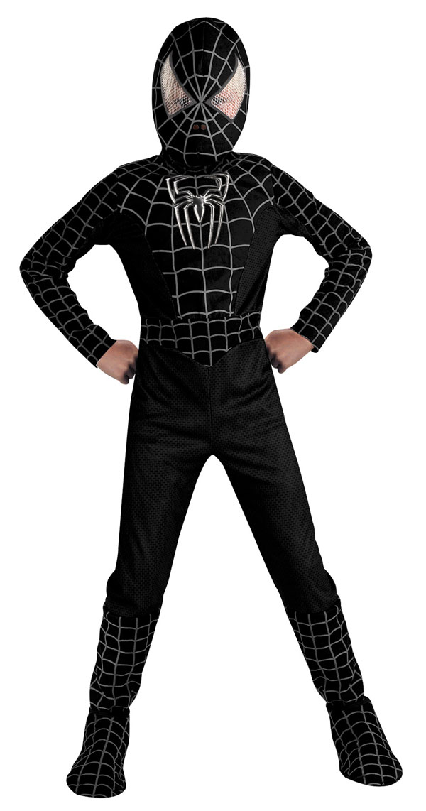 Black Spiderman Costumes | Parties Costume