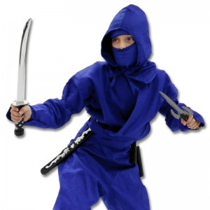 Blue Ninjago Costume