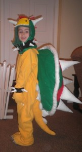 Bowser Costume DIY