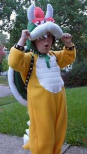 Bowser Costume Toddler