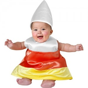 Candy Corn Costume Baby
