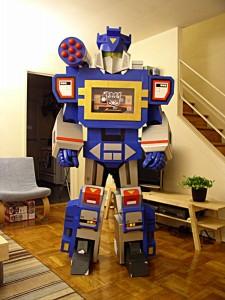 Cardboard Transformer Costume
