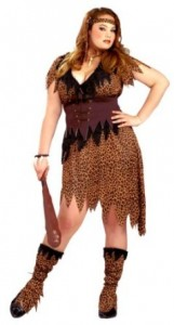 Cavewoman Costume Plus Size