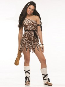 Cavewoman Halloween Costume