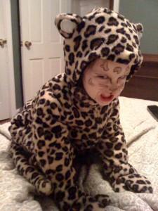 Cheetah Costume Boy