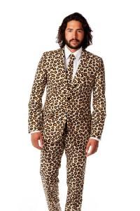 Cheetah Costume Man