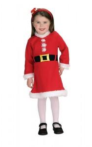 Child Mrs Claus Costume